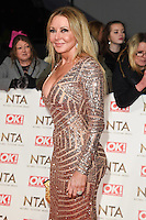 Carol Vorderman<br /> at the National TV Awards 2017 held at the O2 Arena, Greenwich, London.<br /> <br /> <br /> ©Ash Knotek  D3221  25/01/2017