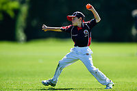 A SBHS fielder during the National Primary School Cup Final between Southland Boys High School v Tauranga Intermediate at the Bert Sutcliffe Oval, Lincoln University, Christchurch, New Zealand. Wednesday 22 November 2017. Photo: John Davidson/www.bwmedia.co.nz