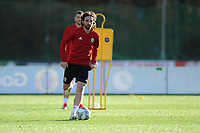 Joe Allen of Wales in action during the Wales Training Session at The Vale Resort in Cardiff, Wales, UK. Monday 12 November 2018