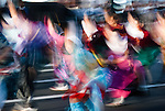 Vivid colors and energetic movements summarizes the Yosakoi Dance Festival in Sapporo