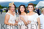 Michelle O'Reilly, Joanne Harrison and Rachel Healy at ladies day at  Killarney Races on Saturday