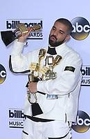 21 May 2017 - Las Vegas, Nevada -  Drake. 2017 Billboard Music Awards Press Room at T-Mobile Arena. Photo Credit: MJT/AdMedia