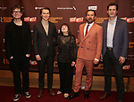 """James Macdonald, Paul Dano, Marylouise Burke,  Ethan Hawke and Gary Wilmes attends the Broadway Opening Night After Party for the Roundabout Theatre Production of """"True West"""" at the American Airlines Theatre on January 24, 2019 in New York City."""