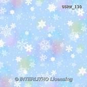 Randy, GIFT WRAPS, GESCHENKPAPIER, PAPEL DE REGALO, paintings+++++P-Snowflakes-blue-medium,USRW130,#GP# Christmas napkins