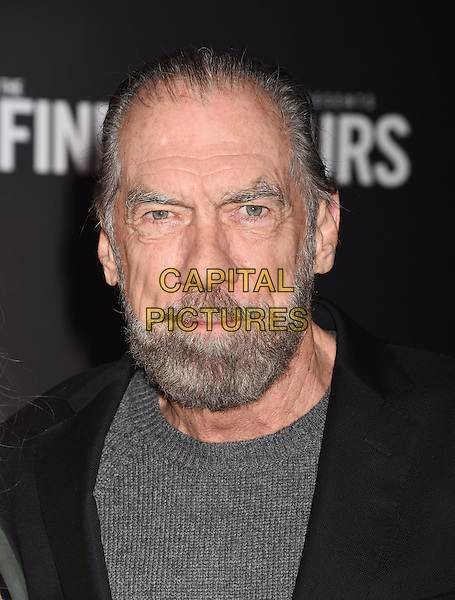 HOLLYWOOD, CA - JANUARY 25: Co-Founder, Chairman and CEO of John Paul Mitchell Systems and Co-Founder of Patron Tequila and Spirits John Paul DeJoria arrives at the Premiere Of Disney's 'The Finest Hours' at TCL Chinese Theatre on January 25, 2016 in Hollywood, California.<br /> CAP/ROT/TM<br /> &copy;TM/ROT/Capital Pictures