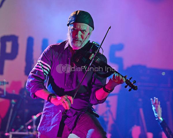 FORT LAUDERDALE FL - JUNE 10: Sergey Ryabtsev of Gogol Bordello performs at Revolution on June 10, 2016 in Fort Lauderdale, Florida. Credit: mpi04/MediaPunch