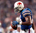 8 October 2007: Buffalo Bills tight end Robert Royal in action against the Dallas Cowboys at Ralph Wilson Stadium in Buffalo, New York. The Cowboys defeated the Bills 25-24 winning their fifth consecutive game of the season...Mandatory Photo Credit: Ed Wolfstein Photo