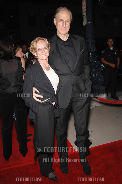 "Actor JAMES CROMWELL & date JOAN MACKINTOSH at the Los Angeles premiere of his new movie ""The Queen""..October 3, 2006  Los Angeles, CA.Picture: Paul Smith / Featureflash"