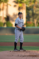 AZL White Sox starting pitcher Taylor Varnell (37) prepares to deliver a pitch during an Arizona League game against the AZL Dodgers at Camelback Ranch on July 7, 2018 in Glendale, Arizona. The AZL Dodgers defeated the AZL White Sox by a score of 10-5. (Zachary Lucy/Four Seam Images)