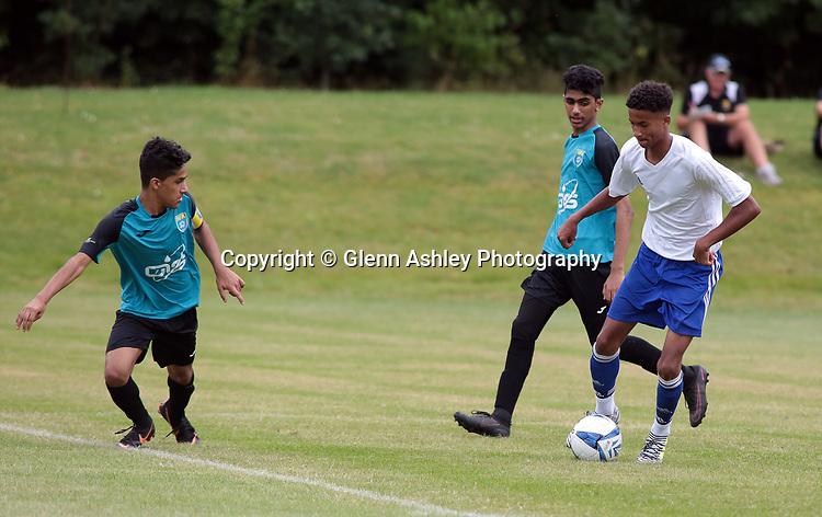 Al Habsi U-14's v ANB U-14's at the 2018 Youdan Trophy, Sheffield, United Kingdom, 3rd August 2018. Photo by Glenn Ashley.