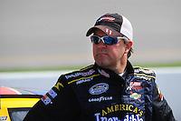 May 2, 2008; Richmond, VA, USA; NASCAR Nationwide Series driver Jason Keller during the Lipton Tea 250 at the Richmond International Raceway. Mandatory Credit: Mark J. Rebilas-