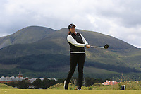Meghan Stasi (USA) on the 2nd tee during Round 1 of the Women's Amateur Championship at Royal County Down Golf Club in Newcastle Co. Down on Tuesday 11th June 2019.<br /> Picture:  Thos Caffrey / www.golffile.ie<br /> <br /> All photos usage must carry mandatory copyright credit (© Golffile | Thos Caffrey)