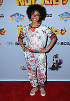 "05 August  2017 - Los Angeles, California - Notlim Taylor.  World premiere of ""Nut Job 2: Nutty by Nature""  held at Regal Cinema at L.A. Live in Los Angeles. Photo Credit: Birdie Thompson/AdMedia"