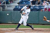 Nelson Ward #2 of the Everett AquaSox at bat during a game against the Tri-City Dust Devils at Everett Memorial Stadium in Everett, Washington on July 28, 2014. Tri-City defeated Everett 6-5 in 11 innings.  (Ronnie Allen/Four Seam Images)