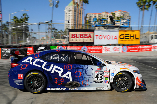 15-17 April, 2016, Long Beach, California, USA<br /> #43 Ryan Eversley, Acura TLX-GT<br /> © 2016, Jay Bonvouloir, ESCP