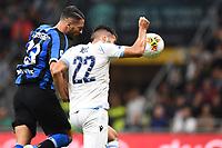 Danilo D'Ambrosio of FC Internazionale scores the goal of 1-0 <br /> Milano 25/09/2019 Stadio Giuseppe Meazza <br /> Football Serie A 2019/2020 <br /> FC Internazionale - SS Lazio <br /> Photo Matteo Gribaudi / Image Sport / Insidefoto