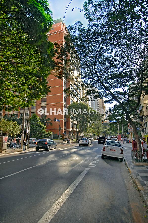 Avenida Higienópolis em São Paulo. 2007. Foto de Juca Martins.
