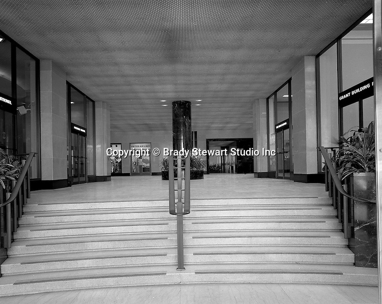 Pittsburgh PA:  The Grant Building, First Floor Offices - 1968