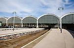 Platforms at Paragon railway station, Hull, Yorkshire, England