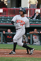 Bowie Baysox Rayner Bautista during an Eastern League game at Jerry Uht Park on April 14, 2006 in Erie, Pennsylvania.  (Mike Janes/Four Seam Images)