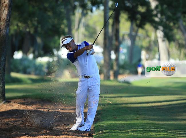 Soren Kjeldsen  (DEN) during the First Round of The Players, TPC Sawgrass,   Florida, USA. 12/05/2016.<br /> Picture: Golffile | Mark Davison<br /> <br /> <br /> All photo usage must carry mandatory copyright credit (&copy; Golffile | Mark Davison)