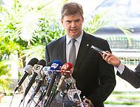 BRASILIA, DF, 28.11.2018 - CANUTO-CCBB-   Gustavo Canuto, indicado como novo ministro do Desenvolvimento Regional, durante entrevista no CCBB, onde ocorre a transição do Governo, nesta quarta, 28.(Foto:Ed Ferreira / Brazil Photo Press)