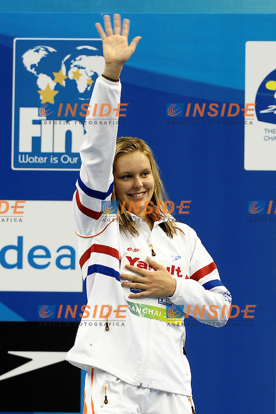 VAN ROUWENDAAL Sharon Netherlands Bronze medal.Women's 200m Backstroke Swimming Nuoto.Shanghai 30/7/2011 .14th FINA World Championships.Foto Andrea Staccioli Insidefoto