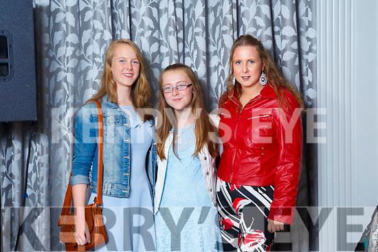 Emma Carmody (Tralee), Eimear Curran(Ballymac) and Jane Carmody (Tralee)