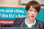 BRUSSELS - BELGIUM - 10 October 2019 -- iEER Final conference as part of European Week of Regions and Cities - The Hacking Growth – boosting entrepreneurial ecosystems in European regions. -- Breda O Dwyer, Head of CEEA, Kerry Institute of Technology Tralee, Kerry Region. -- PHOTO: Juha ROININEN / EUP-IMAGES