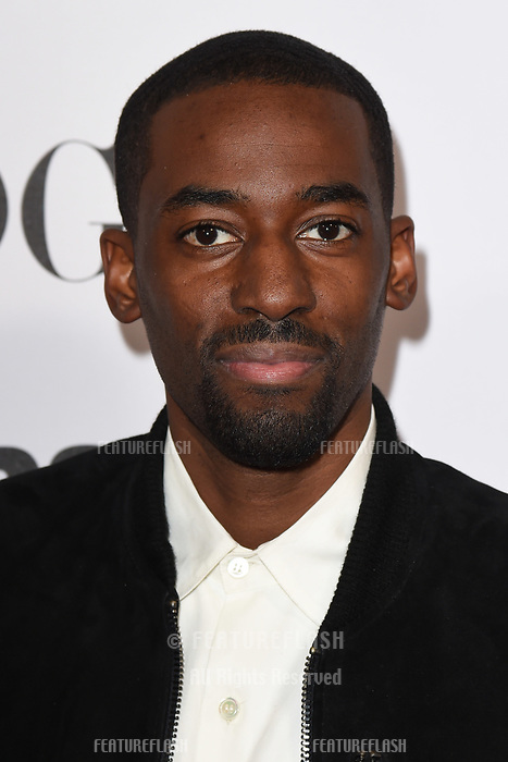 "LONDON, UK. October 31, 2018: Ashley Thomas at the ""Widows"" special screening in association with Vogue at the Tate Modern, London.<br /> Picture: Steve Vas/Featureflash"