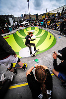 2018 Wellington Bowlzilla skateboarding tournament at Waitangi Park Skate Bowl in Wellington, New Zealand on Saturday, 10 March 2018. Photo: Dave Lintott / lintottphoto.co.nz