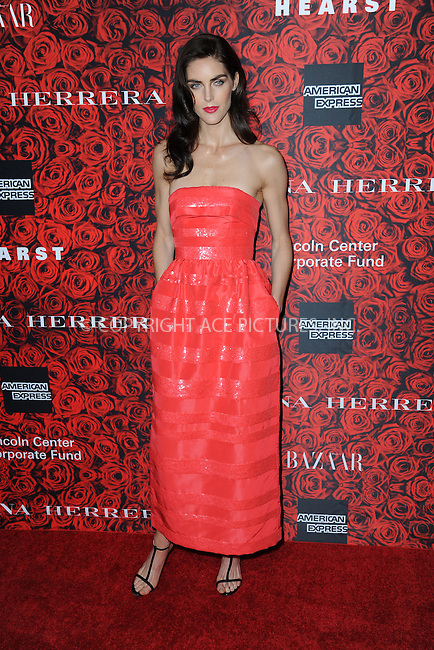 www.acepixs.com<br /> <br /> December 6 2016, New York City<br /> <br /> Hilary Rhoda arriving at An Evening Honoring Carolina Herrera at Alice Tully Hall at the Lincoln Center on December 6, 2016 in New York City.<br /> <br /> By Line: Kristin Callahan/ACE Pictures<br /> <br /> <br /> ACE Pictures Inc<br /> Tel: 6467670430<br /> Email: info@acepixs.com<br /> www.acepixs.com