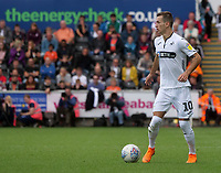Swansea City's Bersant Celina in action during today game <br /> <br /> Photographer Ian Cook/CameraSport<br /> <br /> The EFL Sky Bet Championship - Swansea City v Nottingham Forest - Saturday 15th September 2018 - Liberty Stadium - Swansea<br /> <br /> World Copyright &copy; 2018 CameraSport. All rights reserved. 43 Linden Ave. Countesthorpe. Leicester. England. LE8 5PG - Tel: +44 (0) 116 277 4147 - admin@camerasport.com - www.camerasport.com