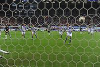 VOETBAL: HEERENVEEN: Abe Lenstra Stadion, 21-10-2012, SC Heerenveen - FC Groningen, Einduitslag 3-0, Alfreð Finnbogason (#11 | SCH) scoort via een penalty de 2-0, ©foto Martin de Jong