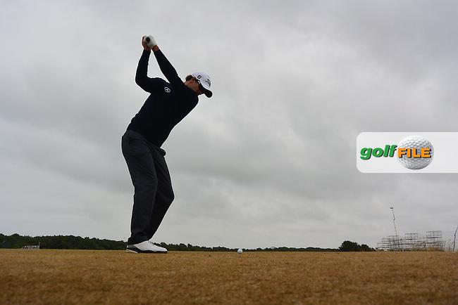 Adam SCOTT (AUS) during round 4 of  The 142th Open Championship Muirfield, Gullane, East Lothian, Scotland 21/7/2013<br /> Picture Fran Caffrey www.golffile.ie:
