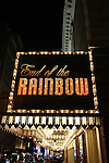 Theatre Marquee for the Opening Night Curtain Call as Tracie Bennett debuts on Broadway as Judy Garland in 'End of the Rainbow' at the Belasco Theatre in New York City on 4/2/2012