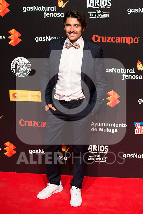 Alex Garcia attends to the cocktail presentation of the XIX Malaga Film Festival at Circulo de Bellas Artes in Madrid. April 06, 2016. (ALTERPHOTOS/Borja B.Hojas)
