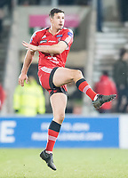 Picture by Allan McKenzie/SWpix.com - 16/03/2018 - Rugby League - Betfred Super League - Salford Red Devils v Hull FC - AJ Bell Stadium, Salford, England - Jack Littlejohn.