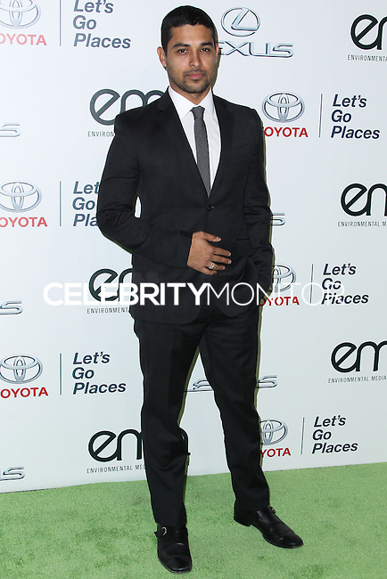 BURBANK, CA - OCTOBER 19: Wilmer Valderrama at the 23rd Annual Environmental Media Awards held at Warner Bros. Studios on October 19, 2013 in Burbank, California. (Photo by Xavier Collin/Celebrity Monitor)