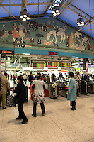 Ueno Station is a major railway station in Tokyo's Taito ward.  A major commuter hub, it is also the traditional terminus for long-distance trains from the northern Japan, although with the extension of the Shinkansen lines to Tokyo Station this role has diminished in recent years.