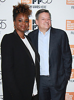 NEW YORK, NY October 12, 2017 Dee Rees, Ted Sarandos attend 55th NYFF present  premiere of Mudbound  at Alice Tully Hall in New York October 12,  2017. Credit:RW/MediaPunch