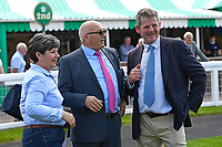 Connections of Red Alert in the Winners enclosure  during Afternoon Racing at Salisbury Racecourse on 13th June 2017