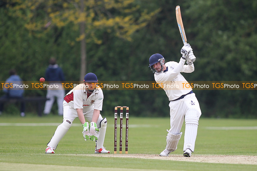 Andy Smith of Billericay during South Woodford CC vs Billericay CC, Shepherd Neame Essex League Cup Cricket at Highfield Road on 6th May 2017