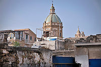 Palermo:cupola della chiesa di San Francesco Saverio.<br /> Palermo:dome of the church of St. Francesco Saverio