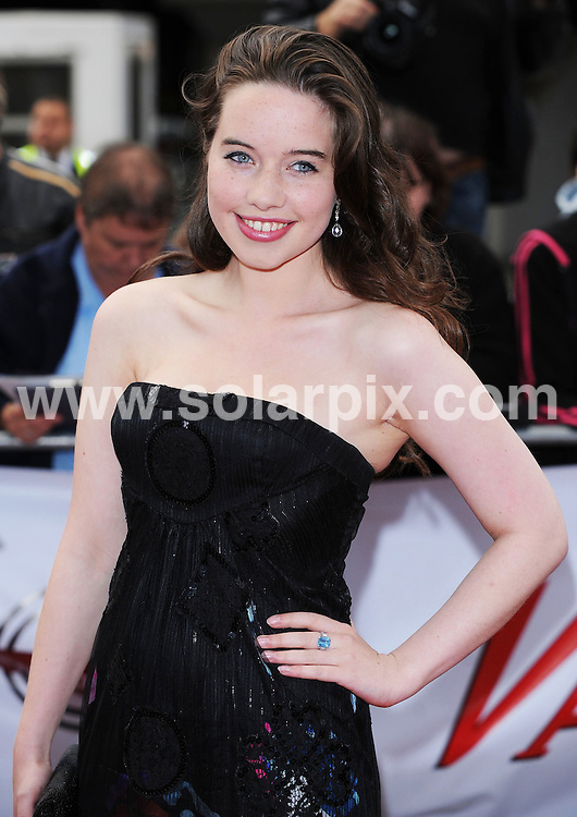 **ALL ROUND PICTURES FROM SOLARPIX.COM**.**WORLDWIDE SYNDICATION RIGHTS**.The Red carpet arrivals and media room guests at the National Movie Awards 2008.Held at the Royal Festival Hall at Southbank in London..This pic:Anna Popplewell..JOB REF:7262-SSD     DATE:08_09_08.**MUST CREDIT SOLARPIX.COM OR DOUBLE FEE WILL BE CHARGED* *UNDER NO CIRCUMSTANCES IS THIS IMAGE TO BE REPRODUCED FOR ANY ONLINE EDITION WITHOUT PRIOR PERMISSION*