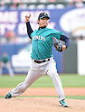 Hisashi Iwakuma (Mariners),<br /> MARCH 6, 2016 - MLB :<br /> Hisashi Iwakuma of the Seattle Mariners pitches during a spring training baseball game against the Texas Rangers at Surprise Stadium in Surprise, Arizona, United States. (Photo by AFLO)