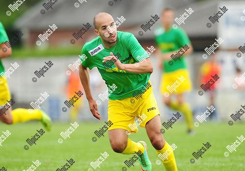2014-07-20 / Voetbal / seizoen 2014-2015 / Sint-Lenaarts / Tarik Traizi<br /><br />Foto: mpics.be