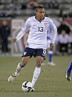 U.S. midfielder Ricardo Clark. The U.S. Men's National Team defeated Guatemala 2-0 in the final game of the semi-final round of qualifying for the 2010 FIFA World Cup. Dick's Sporting Goods Park, Denver, Colorado. November 19, 2008. Photo by Trent Davol/isiphotos.com.