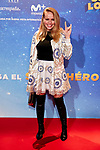 Esmeralda Moya attends to Super Lopez premiere at Capitol cinema in Madrid, Spain. November 21, 2018. (ALTERPHOTOS/A. Perez Meca)