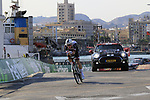 Mike Teunissen (NED) Team Sunweb during Stage 1 of the La Vuelta 2018, an individual time trial of 8km running around Malaga city centre, Spain. 25th August 2018.<br /> Picture: Eoin Clarke | Cyclefile<br /> <br /> <br /> All photos usage must carry mandatory copyright credit (© Cyclefile | Eoin Clarke)